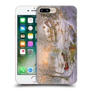 Official Christmas Mix Winter Wonderland Nicky Boehme Over The Bridge To Grandmas Hard Back Case For Apple Iphone 7 Plus