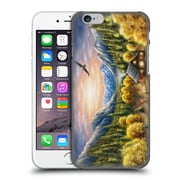 Official Chuck Black Cabin Mountainous Dreams Hard Back Case For Apple Iphone 6 / 6S