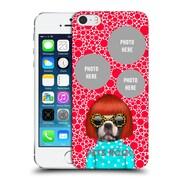 Custom Customised Personalised Pets Rock Custom Case Spots Hard Back Case For Apple Iphone 5 / 5S / Se