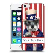 Custom Customised Personalised Pets Rock Custom Case Uncle Sam Hard Back Case For Apple Iphone 5 / 5S / Se