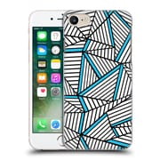 Official Project M Abstract Lines Two Tone White Electric Hard Back Case For Apple Iphone 7