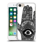 Official Joel Gratte Black And White Hand Middle Hard Back Case For Apple Iphone 7