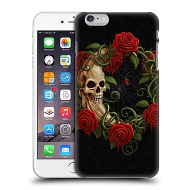 Official Christos Karapanos Horror Skeleton Moon Red Hard Back Case For Apple Iphone 6 Plus / 6S Plus