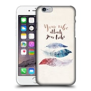 Official Kristina Kvilis Feathers Your Vibe Hard Back Case For Apple Iphone 6 / 6S