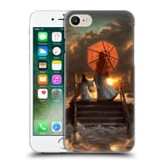Official Daniel Conway Red Umbrella Silent Silhouette Hard Back Case For Apple Iphone 7