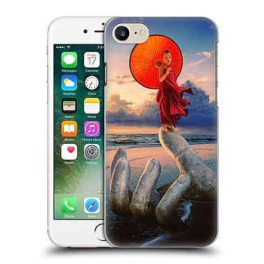 Official Daniel Conway Red Umbrella Stone Hand Hard Back Case For Apple Iphone 7