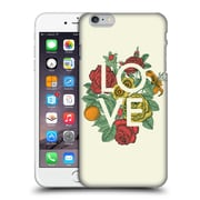 Official Rachel Caldwell Love And Peace Floral Hard Back Case For Apple Iphone 6 Plus / 6S Plus