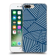 Official Project M Abstract Linear Navy Hard Back Case For Apple Iphone 7 Plus