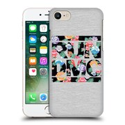 Official Run-D.M.C. Key Art Floral Hard Back Case For Apple Iphone 7