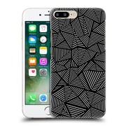 Official Project M Abstract Linear Black Hard Back Case For Apple Iphone 7 Plus