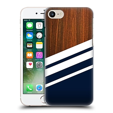 Official Nicklas Gustafsson Textures Wooden Navy Hard Back Case For Apple Iphone 7
