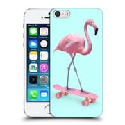 Official Paul Fuentes Pastels Flamingo Square Hard Back Case For Apple Iphone 5 / 5S / Se