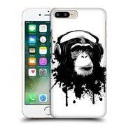 Official Nicklas Gustafsson Animals White Monkey Business Hard Back Case For Apple Iphone 7 Plus