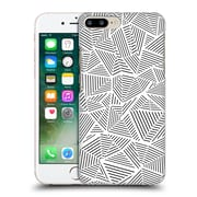 Official Project M Abstract Linear White Hard Back Case For Apple Iphone 7 Plus