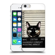 Official Nicklas Gustafsson Animals Kitty Musgshot Hard Back Case For Apple Iphone 5 / 5S / Se