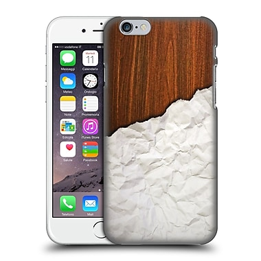 Official Nicklas Gustafsson Textures Wooden Crumpled Paper Hard Back Case For Apple Iphone 6 / 6S