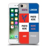 Custom Customised Personalised Crystal Palace Fc 2016/17 South London And Proud Hard Back Case For Apple Iphone 7