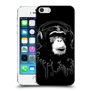 Official Nicklas Gustafsson Animals Black Monkey Business Hard Back Case For Apple Iphone 5 / 5S / Se