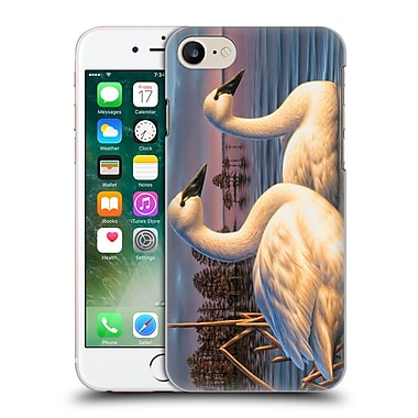 Official Chuck Black Bird Art Evening Tundras Hard Back Case For Apple Iphone 7