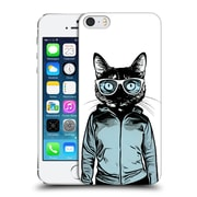 Official Nicklas Gustafsson Animals Cool Cat Hard Back Case For Apple Iphone 5 / 5S / Se