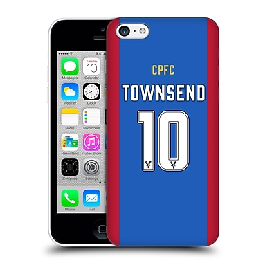 Official Crystal Palace Fc 2016/17 Players Home Kit Andros Townsend Hard Back Case For Apple Iphone 5C