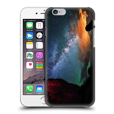 Official Darren White Heavens Northern Lights Over Jackson Lake Pano Hard Back Case For Apple Iphone 6 / 6S