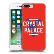 Official Crystal Palace Fc The Eagles Red Palace Hard Back Case For Apple Iphone 7 Plus