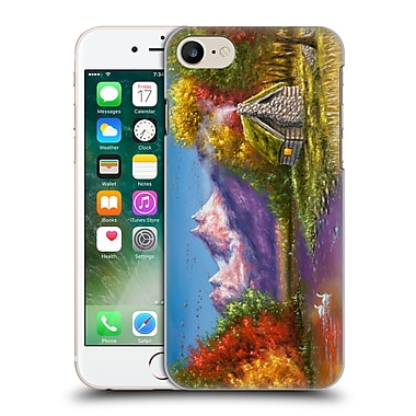 Official Chuck Black Cabin Autumn'S Perfection Hard Back Case For Apple Iphone 7