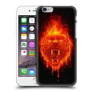 Official Christos Karapanos Horror Flaming Cat Hard Back Case For Apple Iphone 6 / 6S