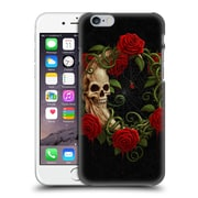 Official Christos Karapanos Horror Skeleton Moon Red Hard Back Case For Apple Iphone 6 / 6S