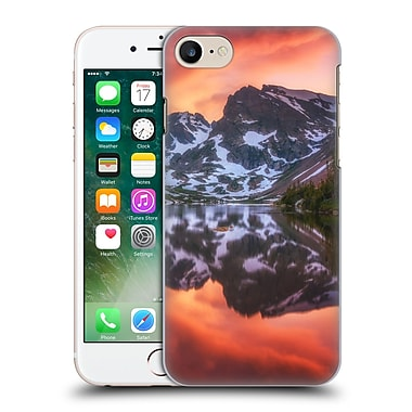 Official Darren White Reflection Maroon Bells Alpenglow Hard Back Case For Apple Iphone 7