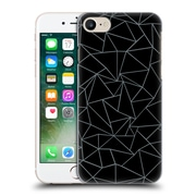 Official Project M Abstract Outline Black And Grey Hard Back Case For Apple Iphone 7