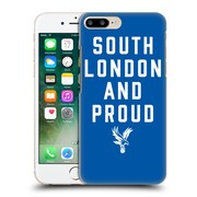 Official Crystal Palace Fc The Eagles Royal Blue Slap Hard Back Case For Apple Iphone 7 Plus