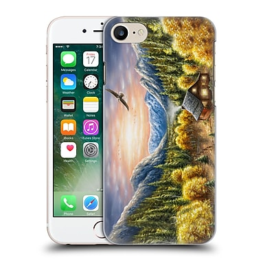 Official Chuck Black Cabin Mountainous Dreams Hard Back Case For Apple Iphone 7