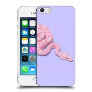 Official Paul Fuentes Animals Pink Snake Hard Back Case For Apple Iphone 5 / 5S / Se