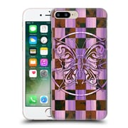 Official Peter Barreda Luminous Spirit Mandalas Ashalia Pinktile Hard Back Case For Apple Iphone 7 Plus