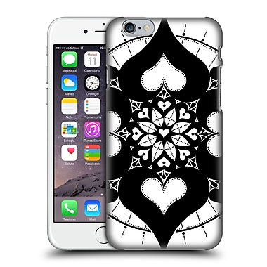 Official Peter Barreda Black And White Mandalas Lianai Hard Back Case For Apple Iphone 6 / 6S