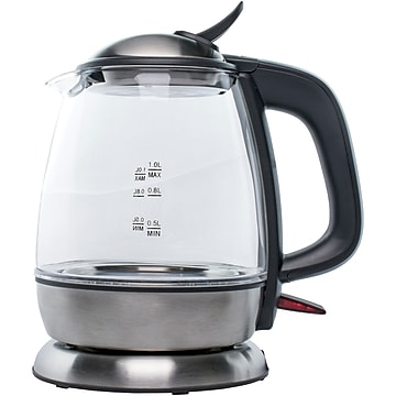 Brentwood Appliances 1 Liter Cordless Glass Electric Kettle (Kt-1910bk)
