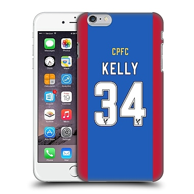 Official Crystal Palace Fc 2016/17 Players Home Kit Martin Kelly Hard Back Case For Apple Iphone 6 Plus / 6S Plus