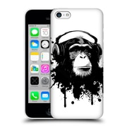 Official Nicklas Gustafsson Animals White Monkey Business Hard Back Case For Apple Iphone 5C