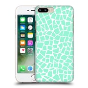 Official Project M British Mosaic Mint Hard Back Case For Apple Iphone 7 Plus