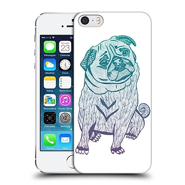 Official Pom Graphic Design Animals The Cute Pug Hard Back Case For Apple Iphone 5 / 5S / Se