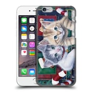 Official Christmas Mix Pets Jenny Newland Calendar Kittens Hard Back Case For Apple Iphone 6 / 6S