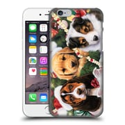 Official Christmas Mix Pets Jenny Newland Puppy Surprise Hard Back Case For Apple Iphone 6 / 6S