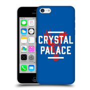 Official Crystal Palace Fc The Eagles Royal Blue Palace Hard Back Case For Apple Iphone 5C