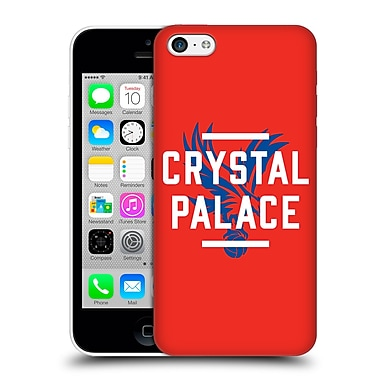 Official Crystal Palace Fc The Eagles Red Palace Hard Back Case For Apple Iphone 5C