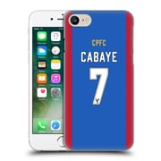 Official Crystal Palace Fc 2016/17 Players Home Kit Yohan Cabaye Hard Back Case For Apple Iphone 7