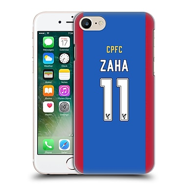 Official Crystal Palace Fc 2016/17 Players Home Kit Wilfried Zaha Hard Back Case For Apple Iphone 7