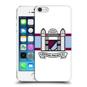 Official Crystal Palace Fc 2016/17 Retro Badge Towers Logo Hard Back Case For Apple Iphone 5 / 5S / Se