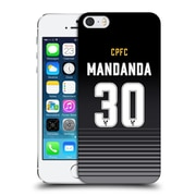 Official Crystal Palace Fc 2016/17 Players Home Kit Steve Mandanda Hard Back Case For Apple Iphone 5 / 5S / Se